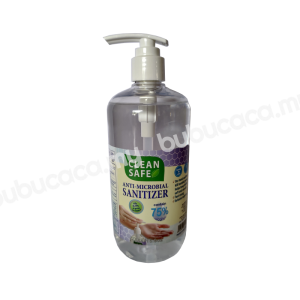 CLEAN SAFE Anti-Microbial Hand Sanitizer 500ml - Water Base