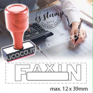 AE Index Stock Stamp DX18- Fax In