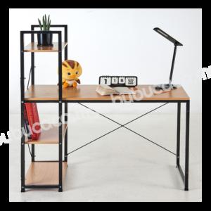 OKURA Modern Desktop Table / Writing Table With Book Shelf