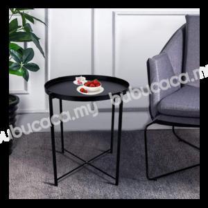 OKURA Modern Removable Metal Tray Coffee Table / Side Table