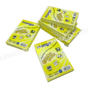 MANGO Stick on Note 1.5X2 Yellow MS1200