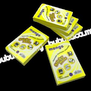 MANGO Stick on Note 2X3 Yellow MS1201