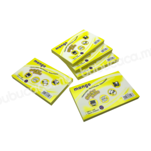 MANGO Stick on Note 3X5 Yellow MS1204