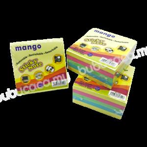 MANGO Stick On Note 3X3 5 in 1 MS1205B