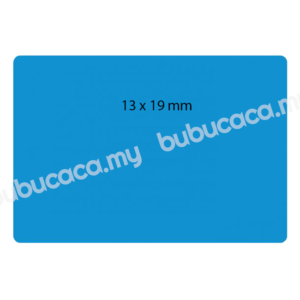 Self Adhesive Label 13X19MM Color