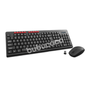 CLIPTEC Essential Air Wireless Multimedia Keyboard And Mouse Combo Set Rzk-339